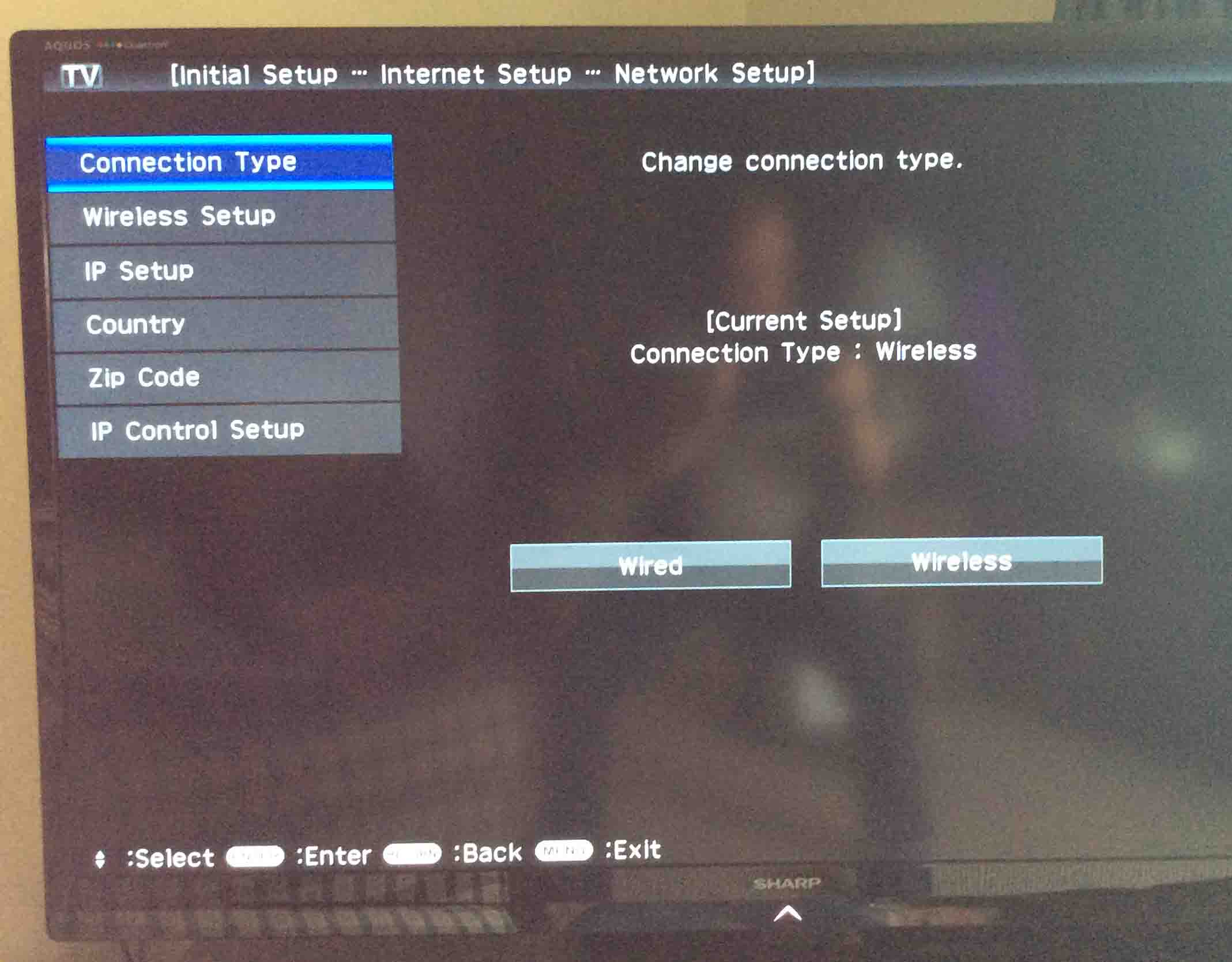 How to Connect Sharp Smart TV to Internet | Tom's Tek Stop