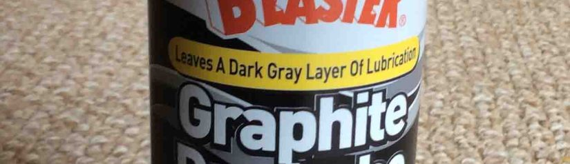 Blaster Graphite Dry Lubricant Lube Spray Review