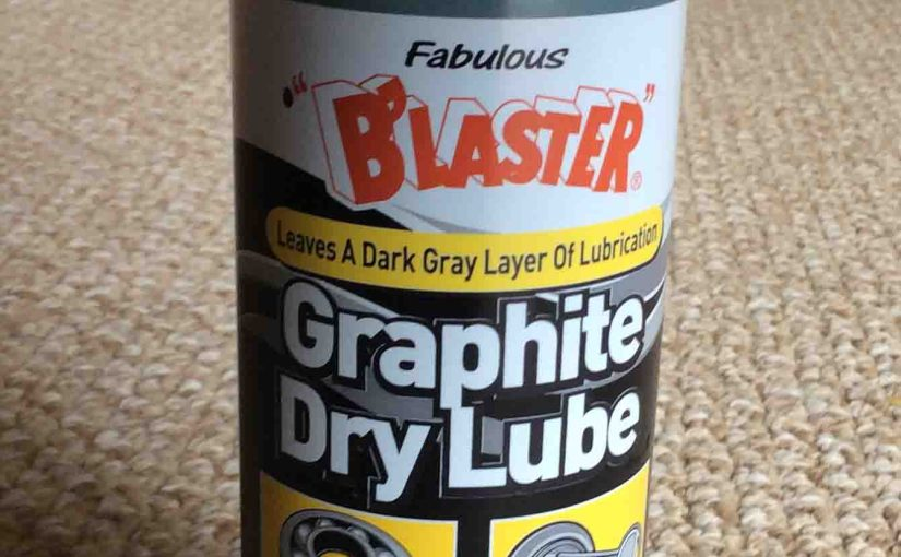 Blaster Graphite Dry Lube Spray Review
