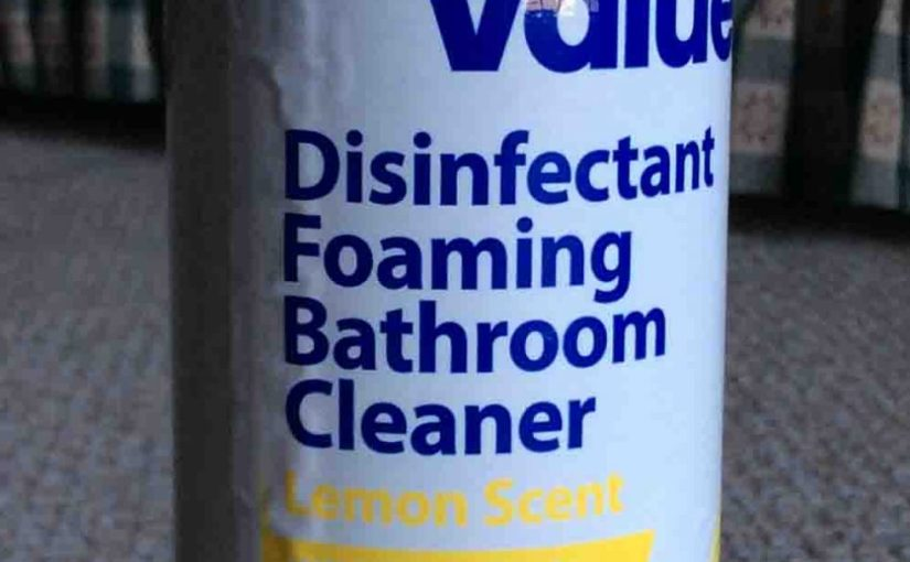 Great Value Bathroom Cleaner Foaming Spray Review