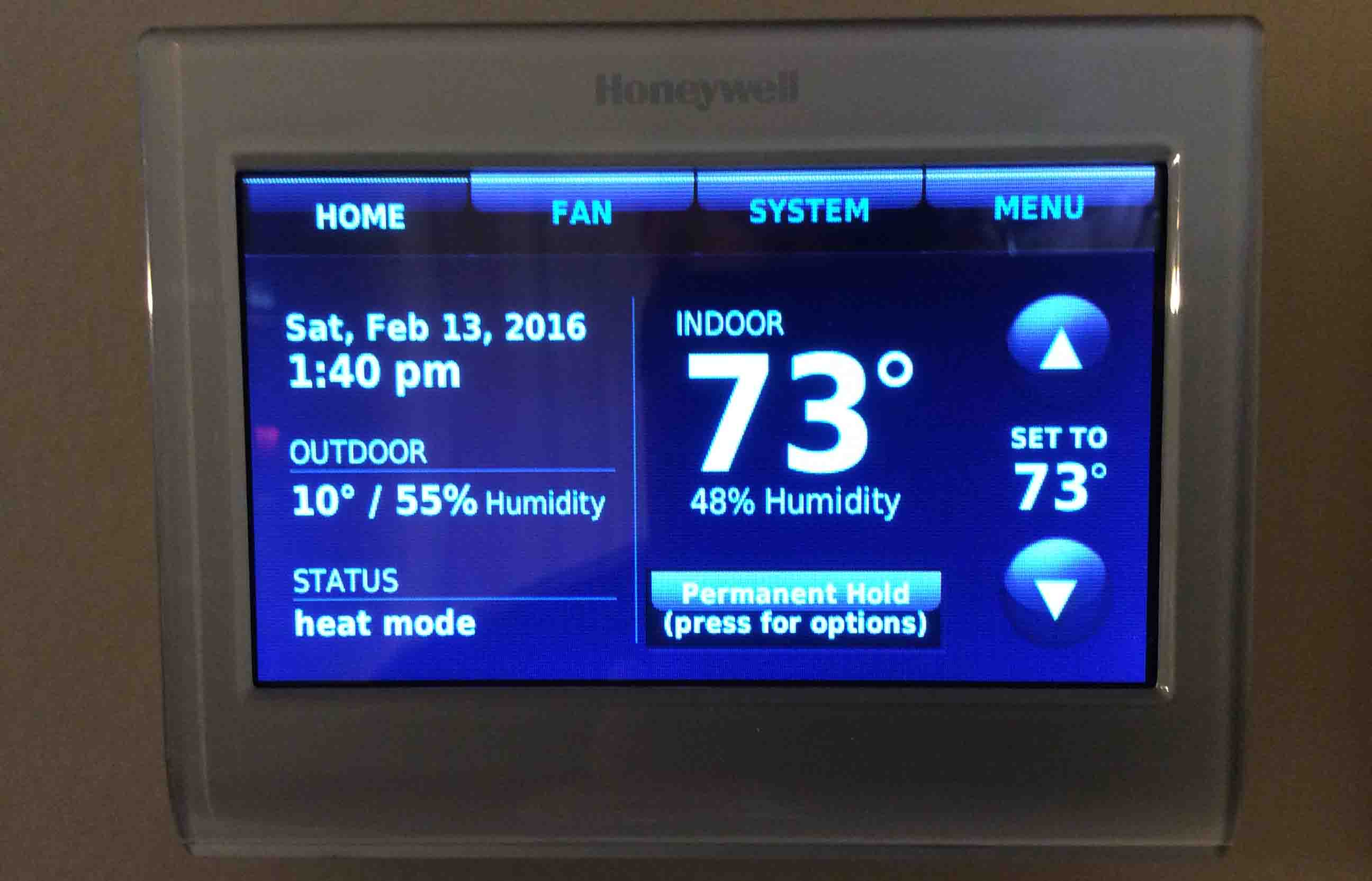 Fixing WiFi Problems on Honeywell RTH9580WF Smart Thermostat