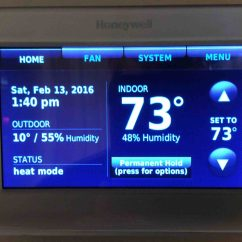 Honeywell Rth9580wf Factory Reset Ruud Thermostat Wiring Diagram Wi Fi Smart Review Tom 39s