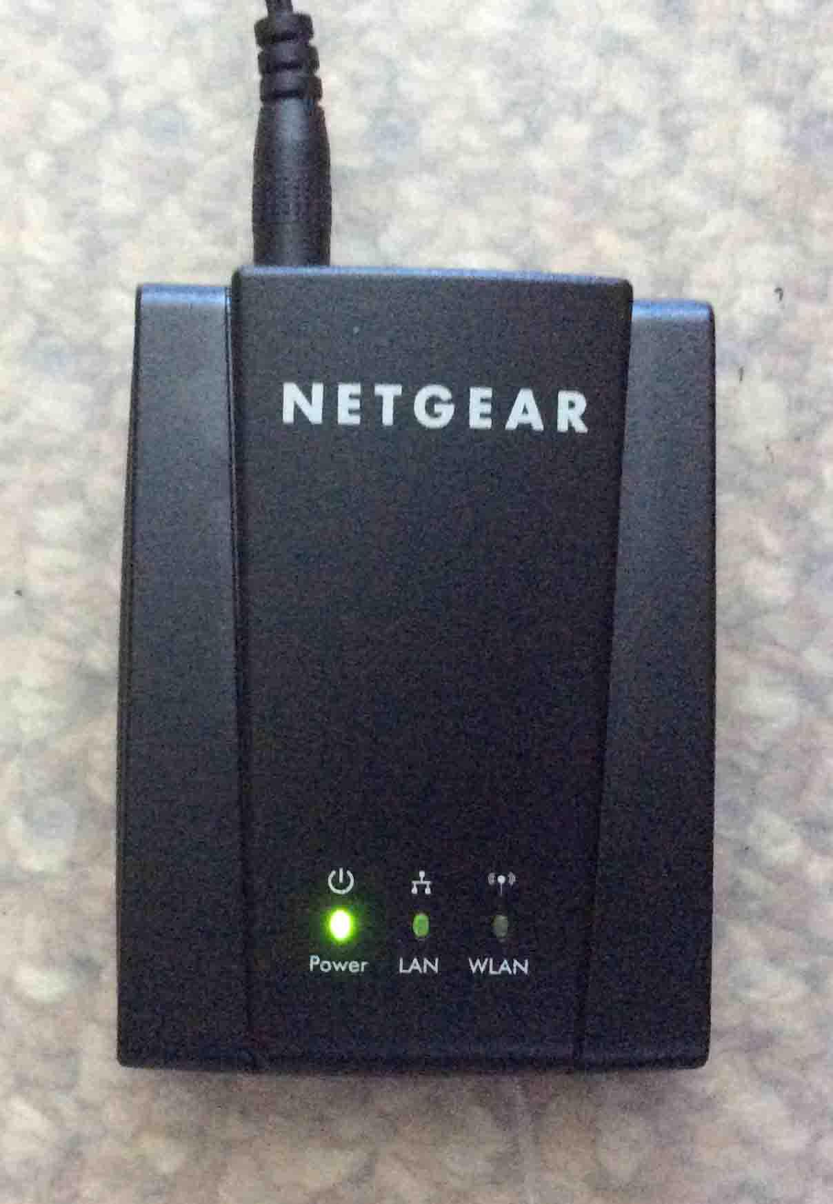 Reset WiFi Network on Netgear WNCE2001 Universal Internet Adapter ...