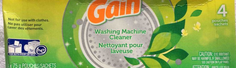 Gain Washing Machine Cleaner Review