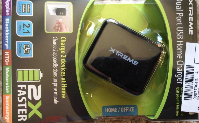 Xtreme Phone Charger Review, LFS0502100D-A8S