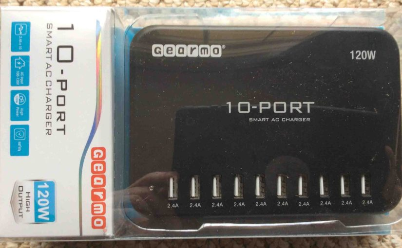 10 Port USB Charging Station Review