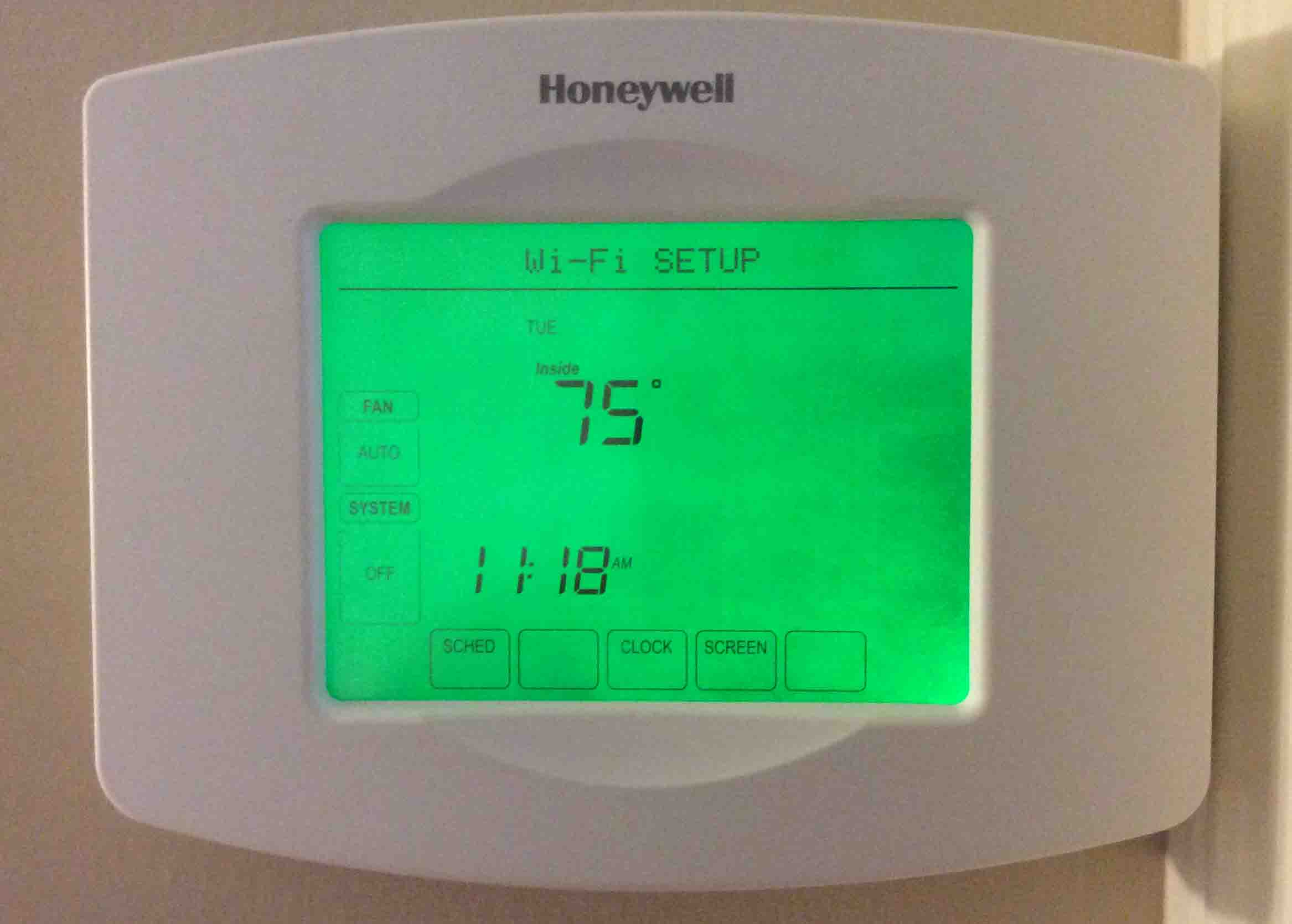 How To Reset Honeywell Thermostat Rth8580wf To Factory