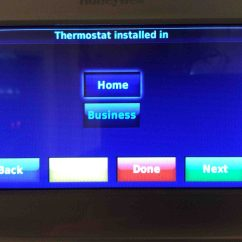 Honeywell Rth9580wf Factory Reset Cadet Heater Wiring Diagram Thermostat Pictures Gallery Tom 39s Tek Stop