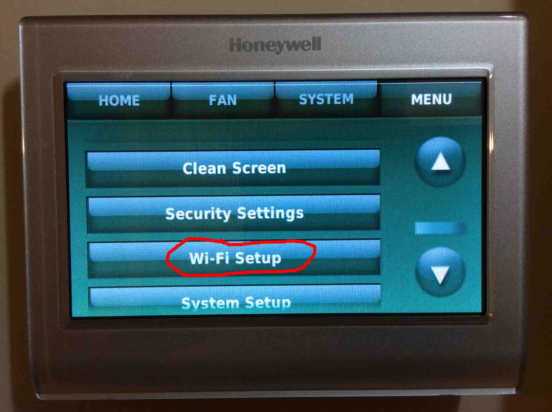 honeywell wifi thermostat kit dometic wiring diagram change network on rth9580wf