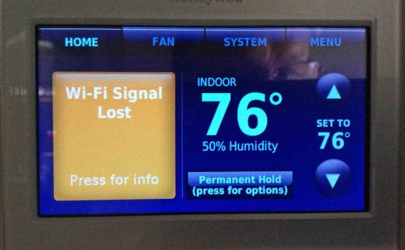 Honeywell Thermostat Reset WiFi Instructions