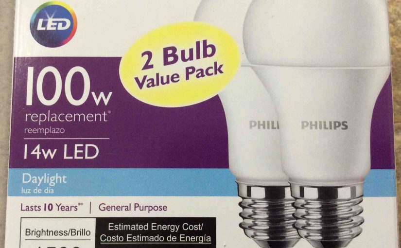 Philips LED A19 100w Daylight Light Bulb Review