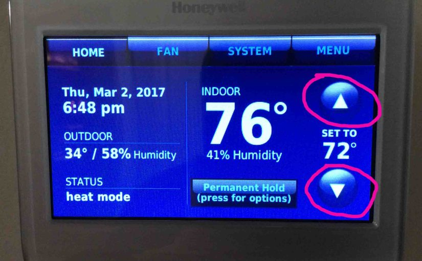How to Change Temperature Setting on Honeywell Thermostat