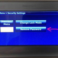 Honeywell Rth9580wf Factory Reset Ge Dishwasher Schematic Diagram How To Lock And Unlock Thermostat