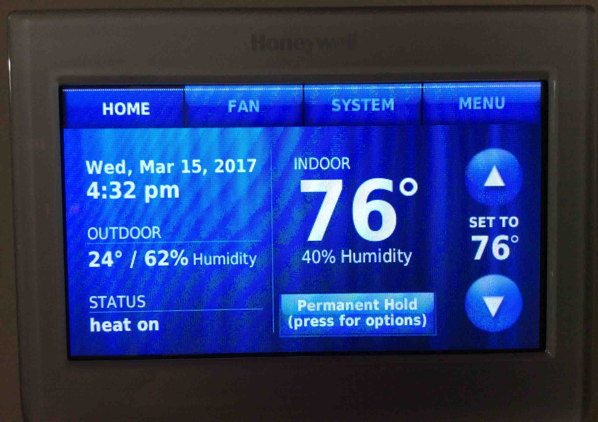 How to Calibrate Honeywell Thermostat Temperature RTH9580WF