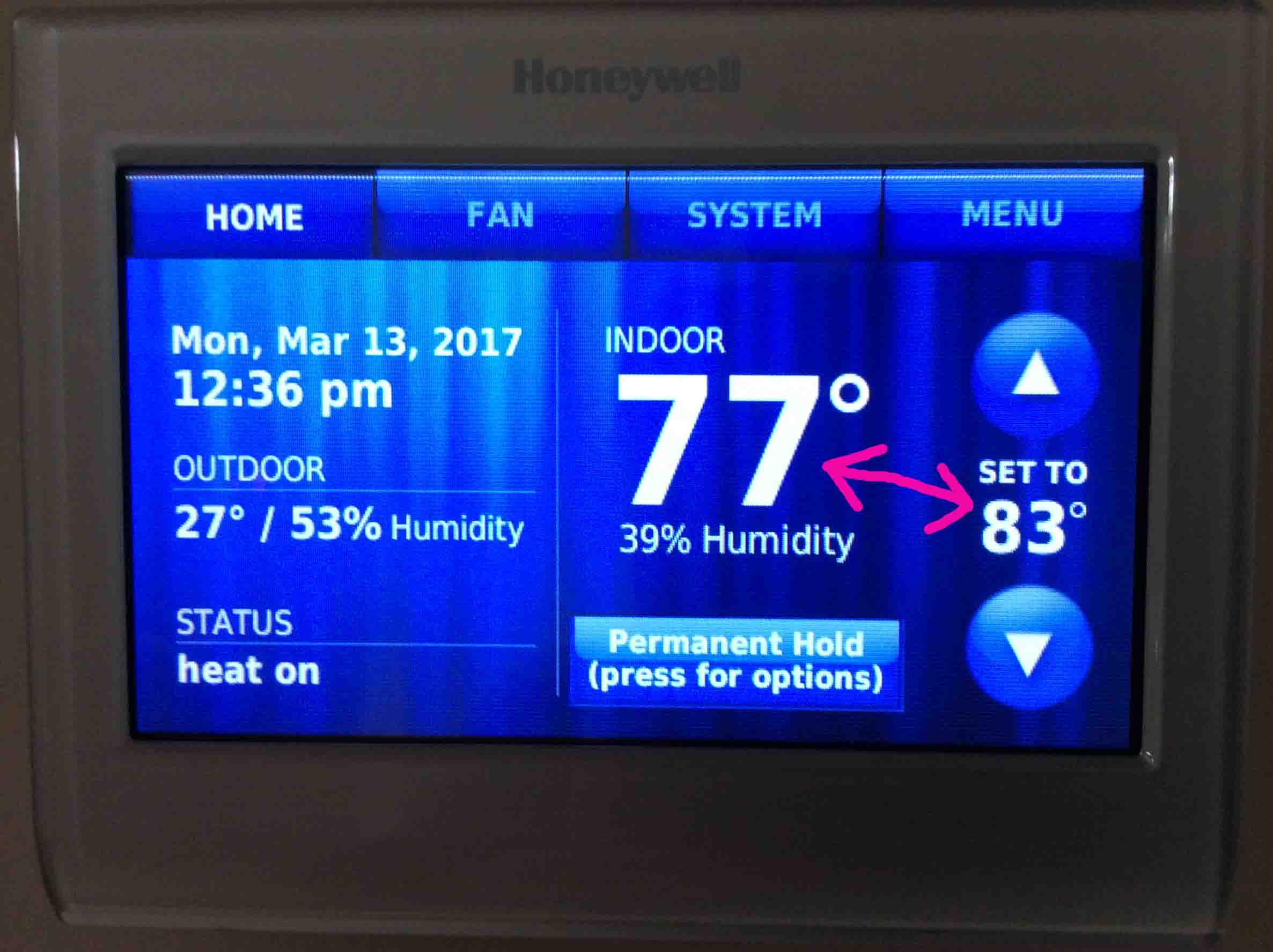 Honeywell Heat Pump Troubleshooting Various Owner Manual Guide Thermostat Not Reaching Set Temperature Rh Tomstek Us Wi Fi For