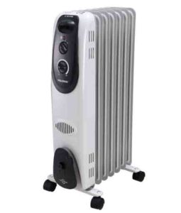 Picture of the Pelonis HO-0260 electric radiator heater, stock photo.