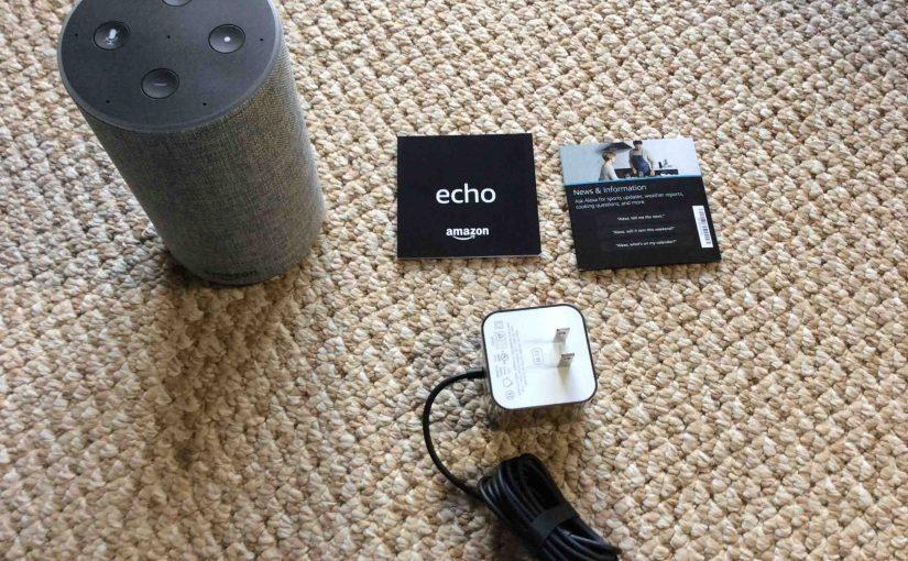 Unboxing the Amazon Echo Generation 2 Speaker