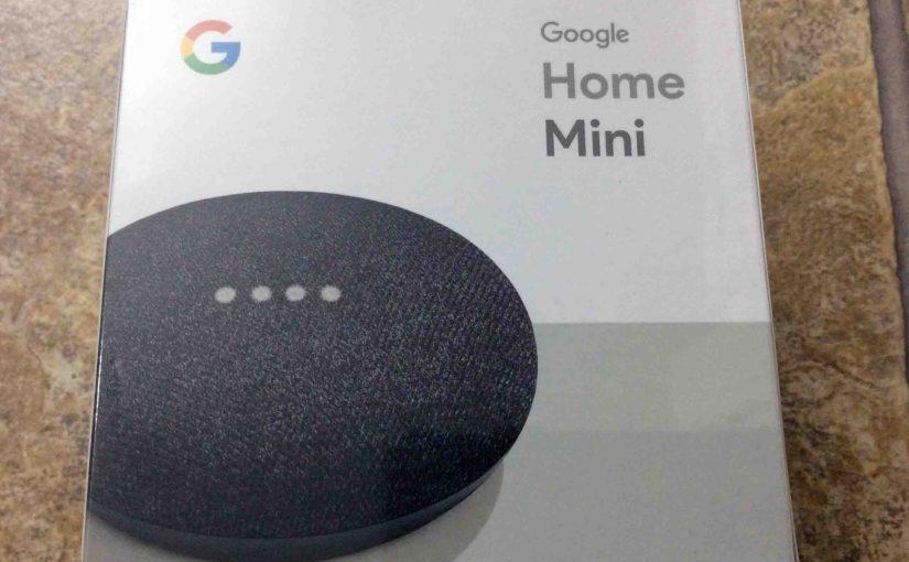 Google Home Mini Restart Instructions