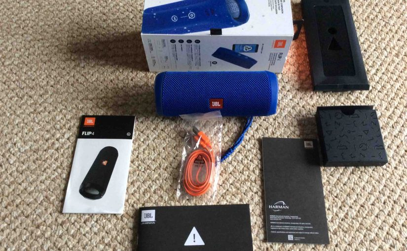 JBL Flip 4 Portable Speaker Picture Gallery
