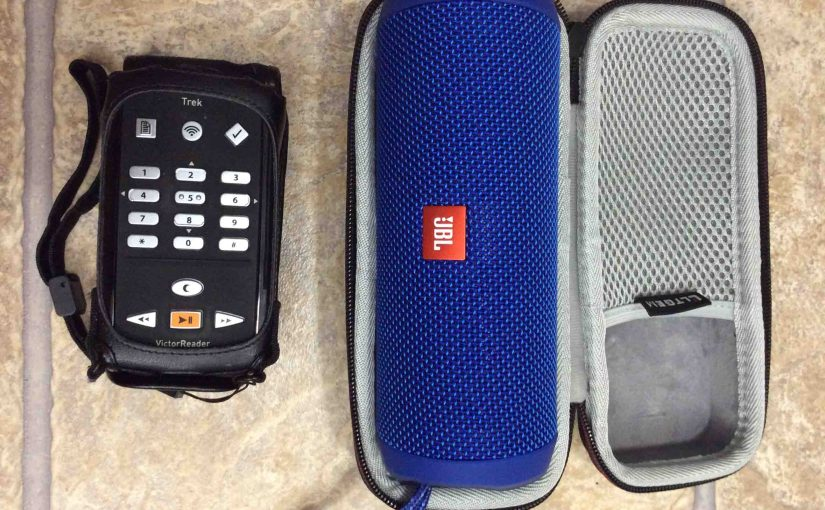How to Pair Victor Reader Trek with JBL Flip 4 Speaker