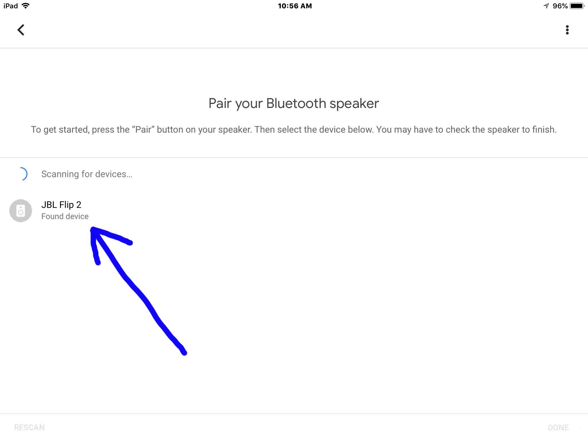 Google Home How To Pair To Bluetooth Speaker