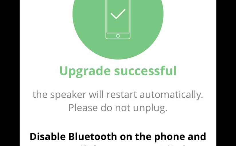 JBL Charge 3 Firmware Update Instructions