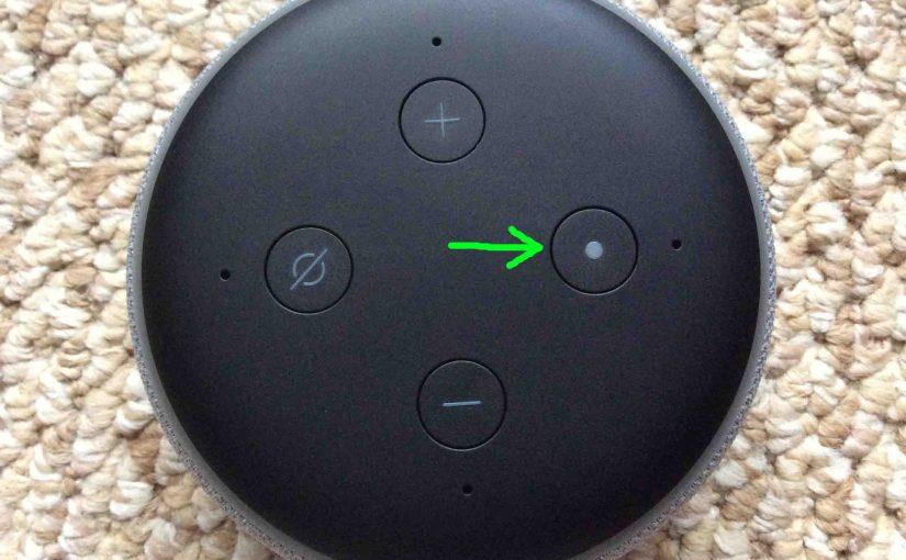 How to Reset Echo Dot 3rd Gen Alexa Speaker