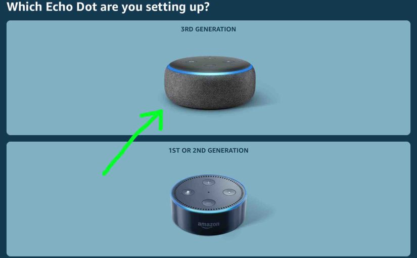 Alexa Echo Dot Reset Instructions