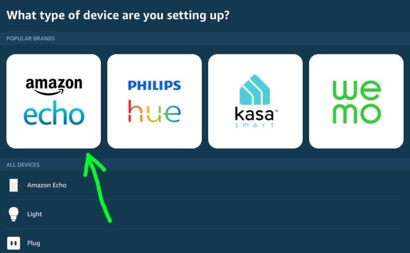Alexa Set Up Instructions for Echo Speakers