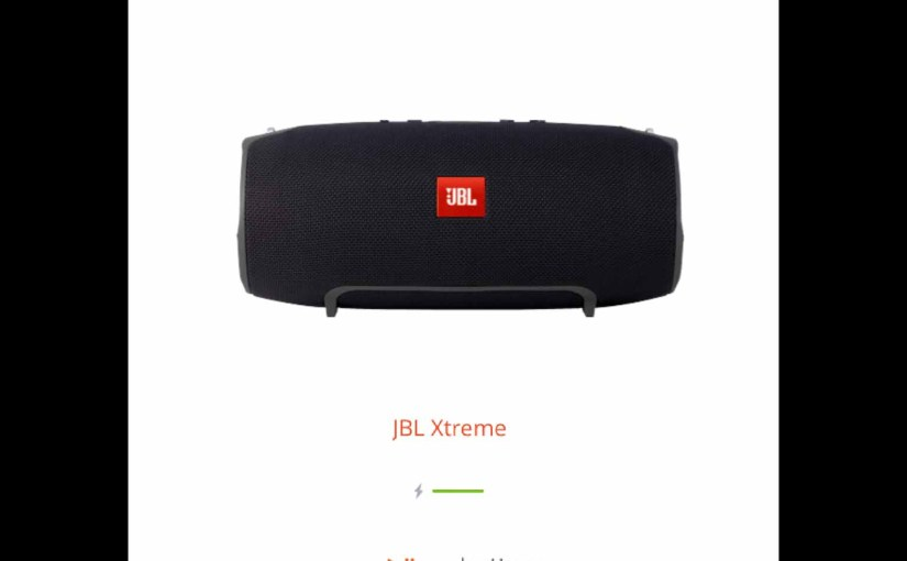 Updating Firmware on JBL Xtreme Speaker, How To