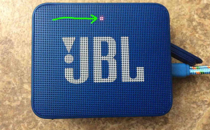 JBL Go Bluetooth Speaker Charging Instructions