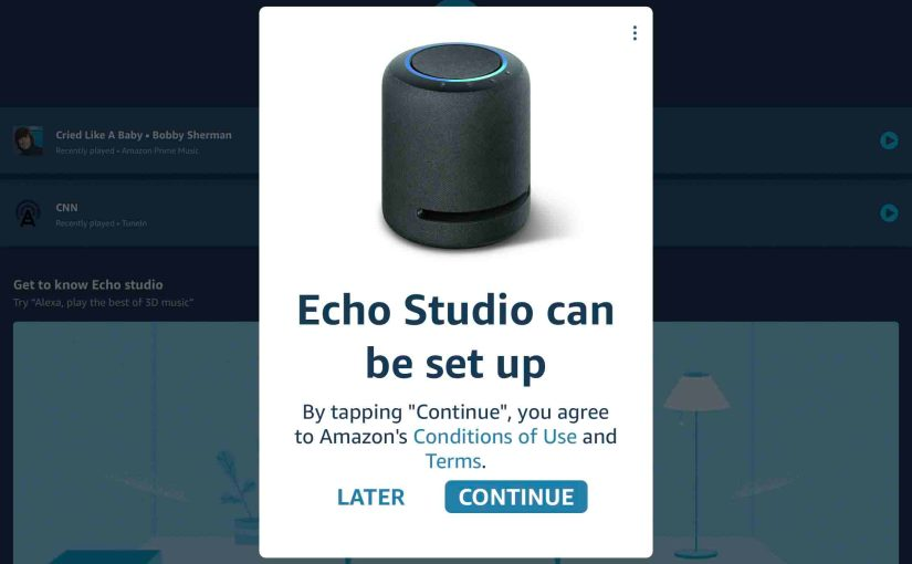 How to Connect Echo Studio to Internet