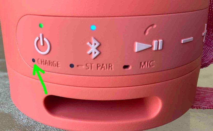 Sony SRS XB13 Charging Instructions
