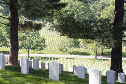 Gravestones at Arlington