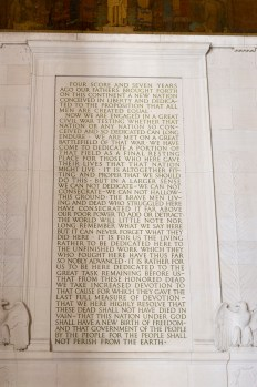The text of the Gettysburg Address