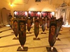 Art installation, Chania Harbour