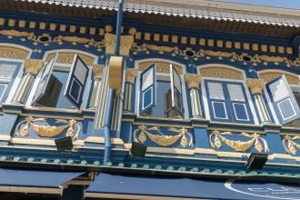 Restored Kampong Glam building