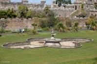 Culzean Castle formal garden