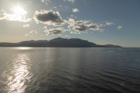 Goat Fell, Arran, from the ferry