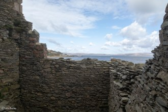 Lochranza from the ruins of the castle