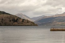 Loch Fyne and the Argyll hills