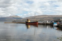 Inverary Pier, the Vital Spark, and Loch Fyne