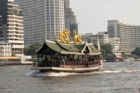 A hotel shuttle boat