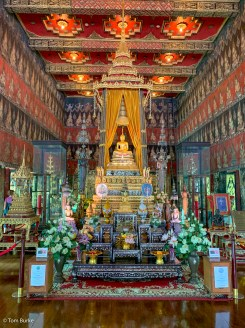 Inside the Buddhaisawan chapel