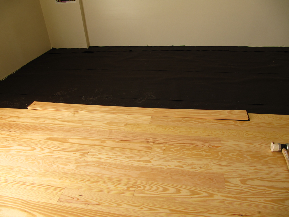 How to install a warped floor board  TWStuds Musings
