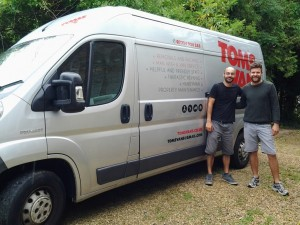 Tom's Vans Removals Bristol - Your Local Man and Van service, established 2010.