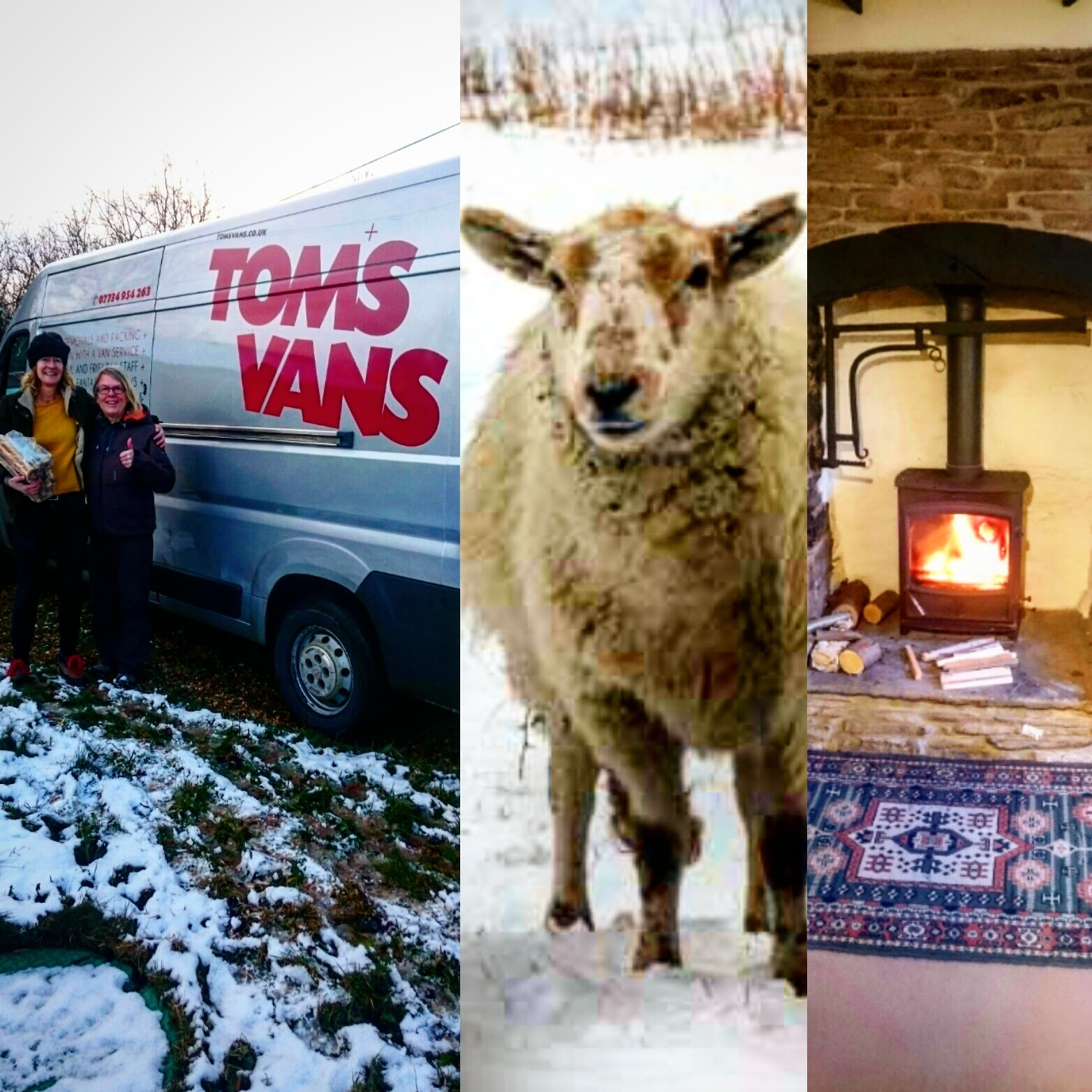 Moving from Bristol to Wales - use Tom's Vans Removals - your local professional man with a van