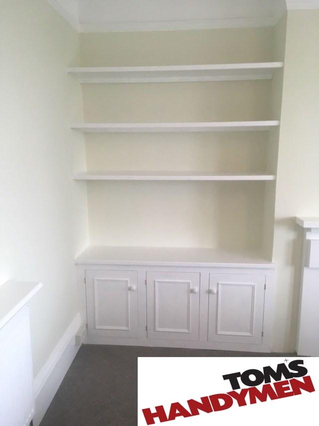 Tom's Handymen in Brighton offer fantastic carpentry solutions such as bespoke handmade furniture, decking, shopfitting and officefitting