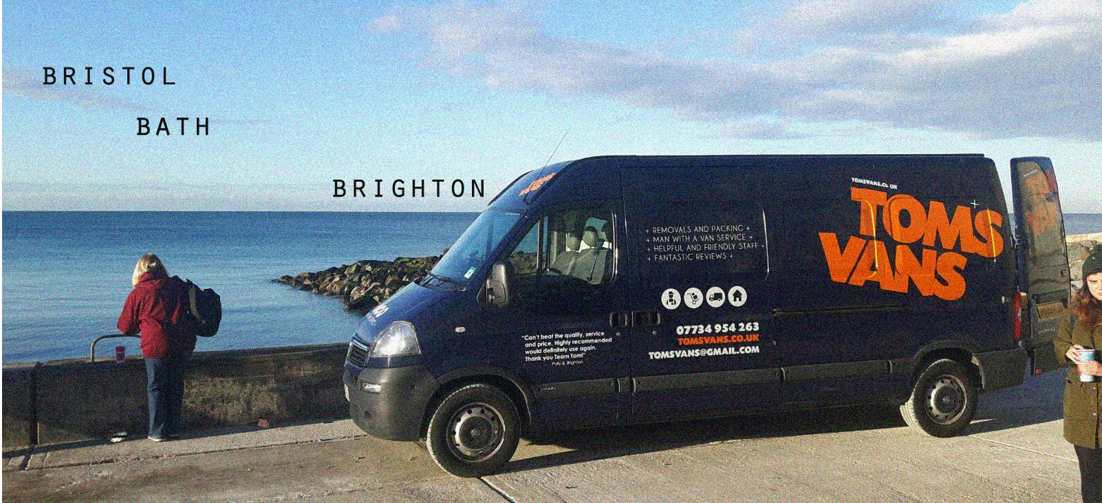 Tom's Vans Brighton your local Man with a Van Removal Company. Offering residents of Brighton & Hove a bespoke Removals and Man with a Van service since 2010. Light removals, man and van deliveries for businesses and domestic customers! Fantastic reviews!