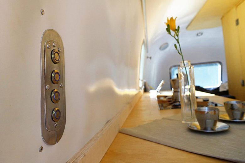 Airstream Wandverkleidung aus PVC